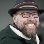 portret man met hoed